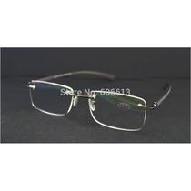 Armação Óculos Com Grau Para Leitura Sem Aro Em Alumínio