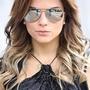 Óculos Modelo Aviador Espelhado Coloridos Verão Frete Grátis