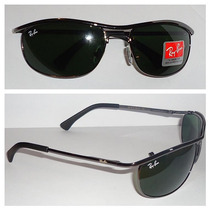 Óculos Demolidor 8012 Grafite Lentes Verdes