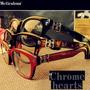 Armação De Óculos De Grau Unissex- Chrome Hearts