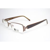 Armação Óculos Feminino Marrom At7908m Mj