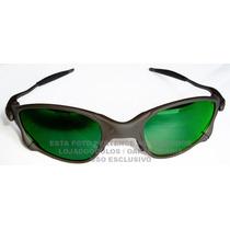 Oculos Doublex Xmetal Lente Esmeralda Polarizada Uv/uva400