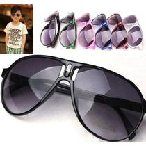 Óculos De Sol Infantil Estilo