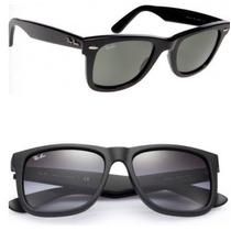 Óculos De Sol Ray Ban Wayfarer Rb2140 Rayban Justin Wayfarer