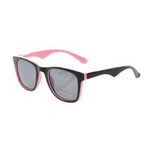 Óculos De Sol Feminino Importado Preto E Rosa Retro Chic