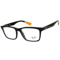 Armação Para Óculos De Grau Ray Ban Rb 7025 Retrô Masculina