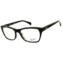 Armação Para Óculos De Grau Ray Ban Rb 5298 Retrô Feminina