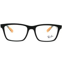 Ray Ban Rb 7025 Armação Para Óculos De Grau Masculina Retrô