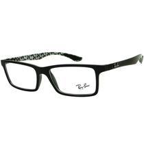 Armação Para Óculos De Grau Ray Ban Rb 8901 Masculina Retrô