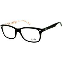 Ray Ban Rb 5228 Óculos De Grau Feminino Retrô Original