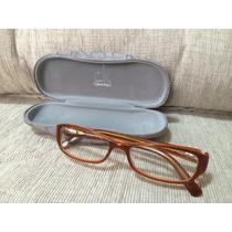 Armação Calvin Klein Legitima Para Oculos De Grau. Novo