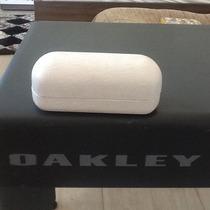 Estojo Case Oakley Branco Novissimo