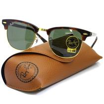 Óculos Ray Ban Clubmaster 3016 Italiano Case Original