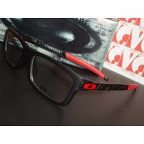 Armação Óculos De Grau Currency Ducati Preto Aro Fechado
