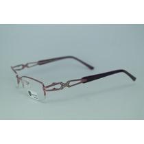 Armação Óculos Feminina Infantil Acetato Roxo Sh843c13 Mj