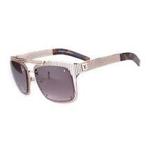Oculos Louis Vuitton Luis Viton Z0499u Dourado Original