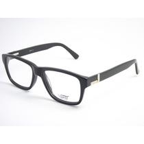 Armação Óculos Feminino Acetato Preto 5708 C2 Mj
