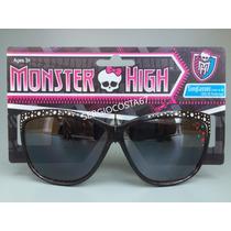 Oculos De Sol Infantil Menina Monster High Original C54 Sc67