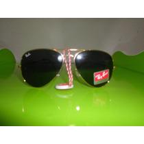 Óculos De Sol Rb3026 Rayban Aviador Lente Escura