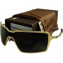 Oculos Probation Dourado Polarizado + Frete Gratis