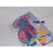 Óculos De Sol Infantil Menina-princesas Disney