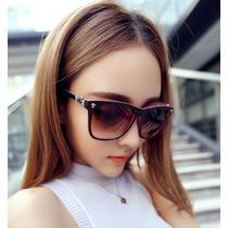 Óculos De Sol Retro Estilo Wayfarer