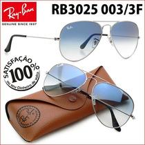 Ray Ban Rb3025 3026 003/3f Aviador Frete Grátis Todo Brasil