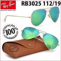 Ray Ban Rb3025 3026 112/19 Aviador Frete Grátis Todo Brasil
