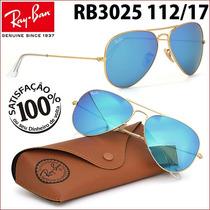 Ray Ban Rb3025 3026 112/17 Aviador Frete Grátis Todo Brasil