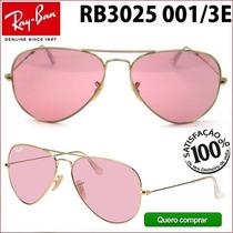 Ray Ban Rb3025 3026 001/3e Aviador Frete Grátis Todo Brasil