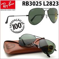 Ray Ban Rb3025 3026 L2823 Aviador Frete Grátis P Todo Brasil