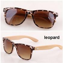 Óculos De Sol De Madeira/bambu 10% Off Tempo Limitado