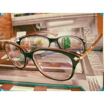 Armação Óculos Grau 2015 Vintage Retrô Acetato E Aço 3 Cores