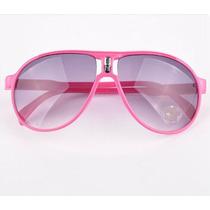 Óculos De Sol Infantil Estilo Aviador