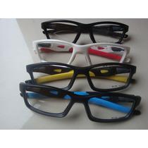 Oculos De Grau Crosslink. Armaçao. Varias Cores. Haste Móvel