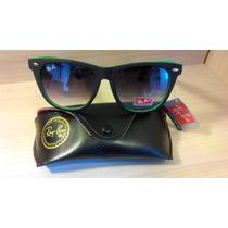 Rayban Wayfarer Rb2140 Limited Edition - Green Style!