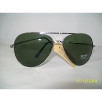 Oculos De Sol Aviador Lentes Verdes Proteçao Uv 400 Masc Fem