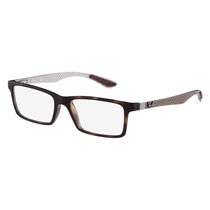 Óculos De Grau Rayban Tartaruga Textura Tridimensional