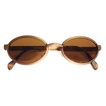 Óculos Revo City Oval Vintage Bronze Lente Espelhada Novo!