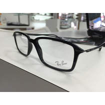 Oculos Receituario Ray Ban Light Ray Rb 7019 2000 53 S. Leve