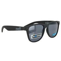 Óculos Neff Daily Preto Fosco Wayfarer Skate- Pronta Entrega