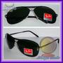 Óculos 8015 Aviador Aviator Grafite Lentes Escuras