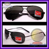 Óculos 8015 Aviador Grafite Lentes Escuras Polarizadas