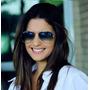 Óculos De Sol Ray Ban Aviador Lente Azul Degrade Original
