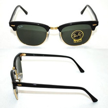 Rayban Clubmaster Rb3016 Brinde Porta Óculos Frete Gratis