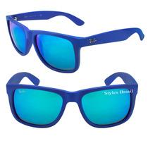 Ray Ban Justin 4165 Oculos Lançamento + Case Rayban