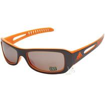 Óculos De Sol Masculino Adidas Marrom Laranja Novo Original