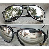 Oculos De Sol Aviador Unissex Gratis Estojo E Porta Oculos
