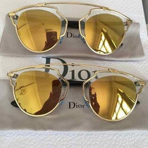 Oculos Dior So Real Dourado Original Lente Dourada