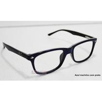 Armação Oculos De Grau Masculino E Feminino Rayban Rb 5228